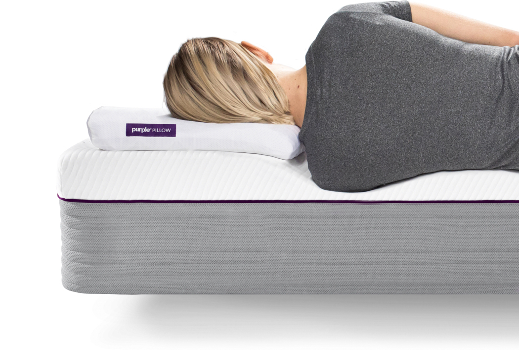 Purple Pillow Side Sleeper