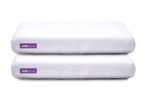 Stacked Purple Pillows
