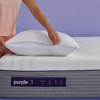 Choose How You Snooze On The All New Purple 174 Plush Pillow