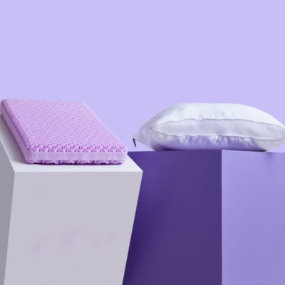 Bed Pillows Designed With Comfort In Mind Purple