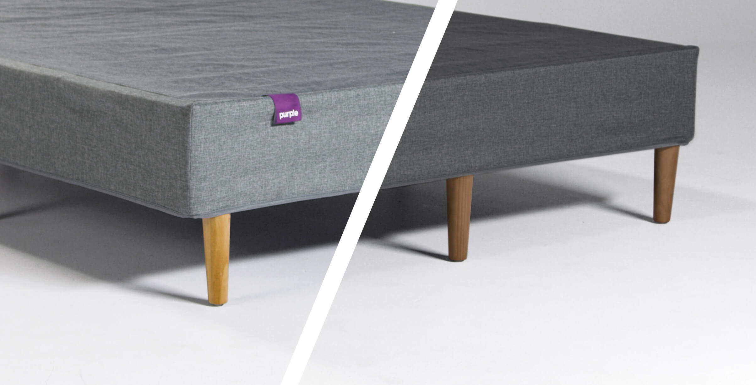 Purple Mattress Foundation In Two Colors