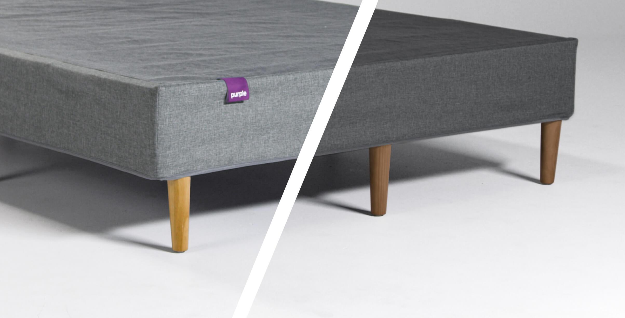 Upholstered Bed Frame Purple