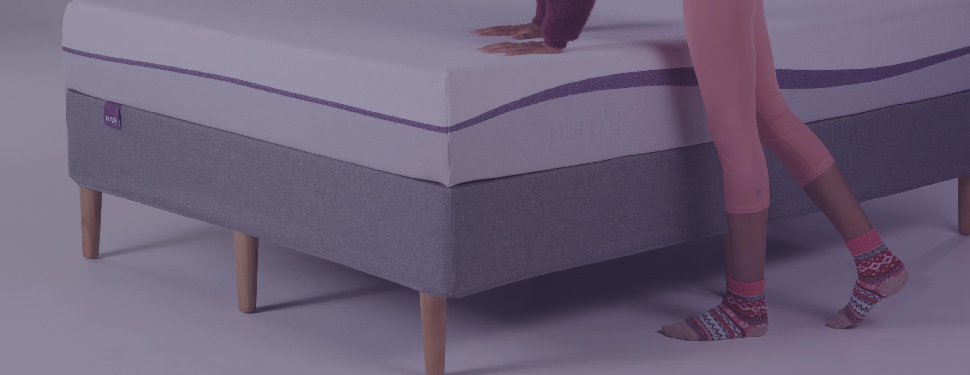 Bed Frames Purple