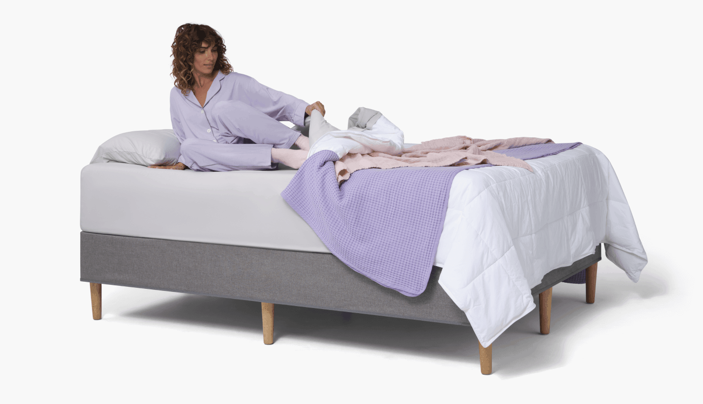 Lilac Woman Bed Pjs 1