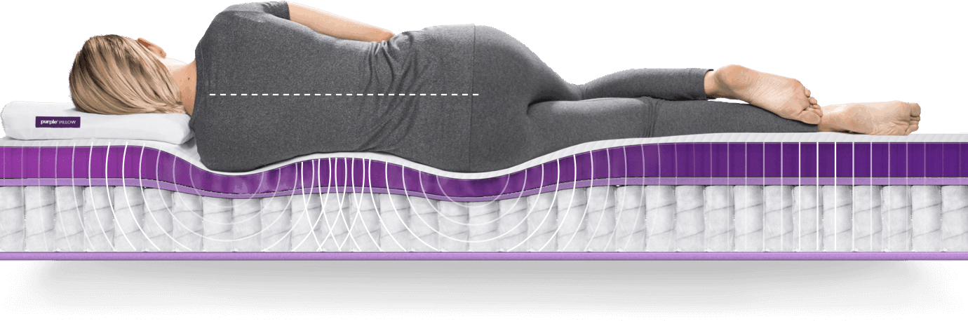 The New Purple 174 Mattress Is Engineered For Every Body Purple