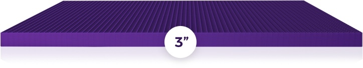 Purple Grid 3In