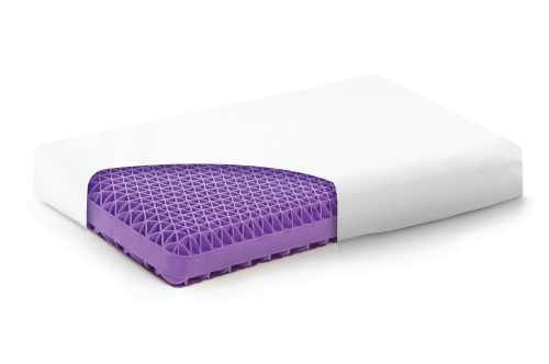 Purple Pillow Grid