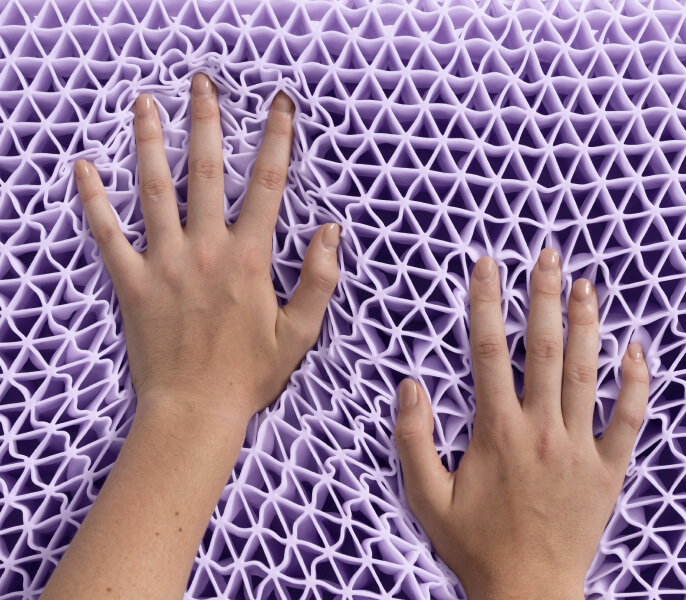 Purple Pillow Soft Mobile