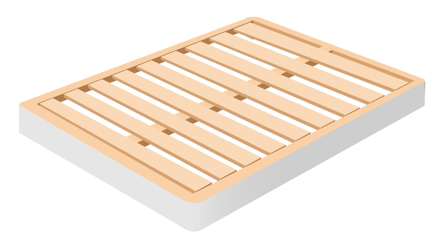 mattress foundation wood
